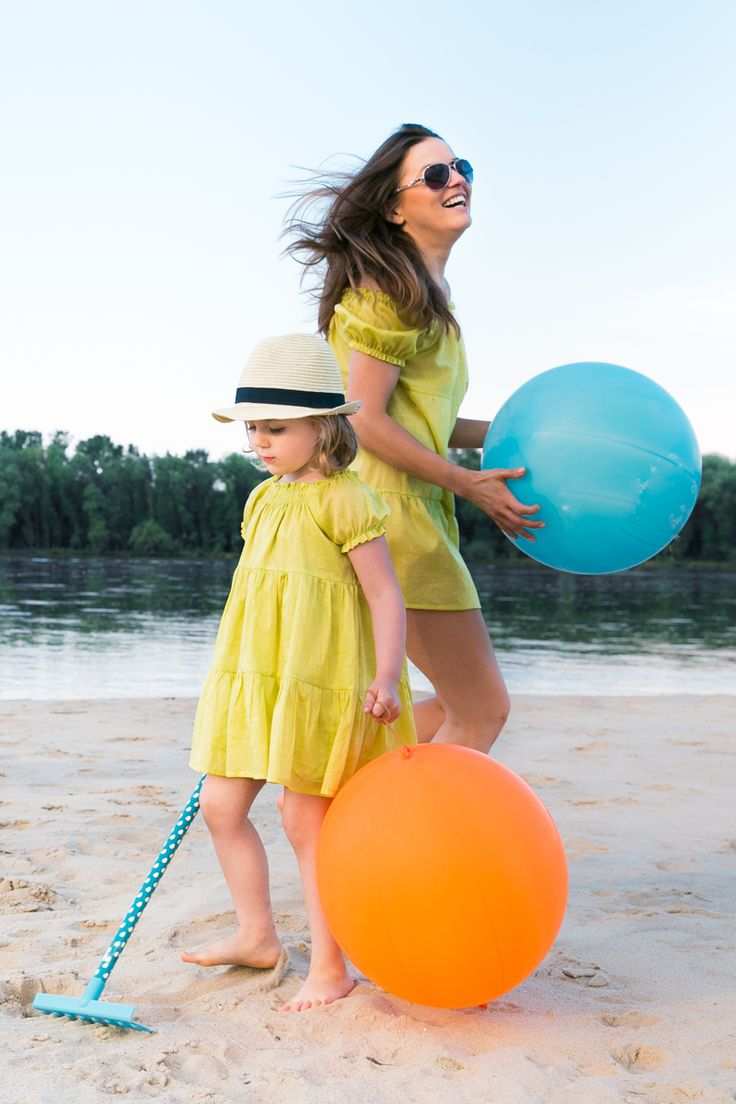 Idealny zestaw dla Mamy i dziecka na plażę!