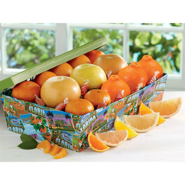 gift florida citrus baskets gifts box grapefruit boxes groves hale