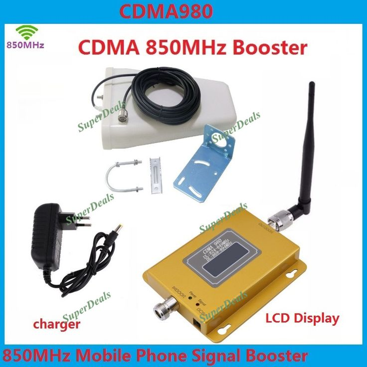 LCD Display GSM CDMA 850Mhz Repeater GSM 850 Cellular Signal Booster 70dB Mobile Cell Phone Signal Repeater Amplifier + Antenna #Affiliate