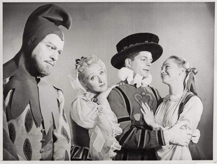 Alfred Drake, Celeste Holm, Bill Hayes, and Barbara Cook, Hallmark Hall of Fame: The Yeomen of the Guard (TV, 1957)