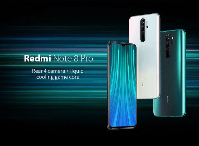 Xiaomi Redmi Note 8 Pro Global Version 6 64gb Forest Green Eu Emerald Green 6 64gb T Mobile Phones Xiaomi Phone
