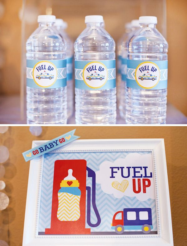 cars-and-trucks-baby-shower-drinks