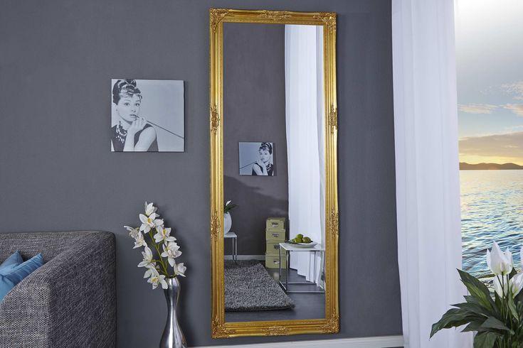 Zrkadlá : Zrkadlo Reincarnation zlaté 185cm