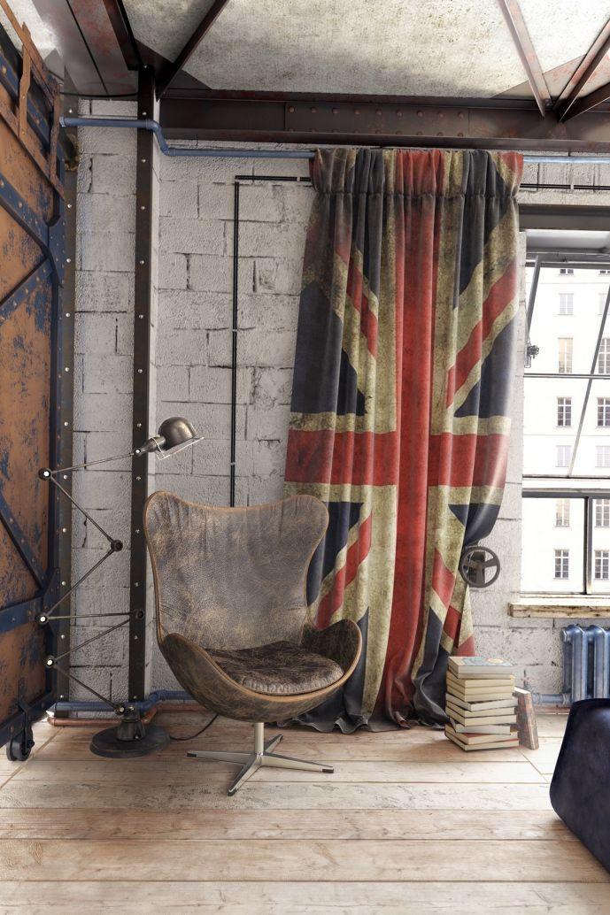 Union Jack Bedroom Curtains - Nightstand Ideas for Bedrooms Check more at http://grobyk.com/union-jack-bedroom-curtains/