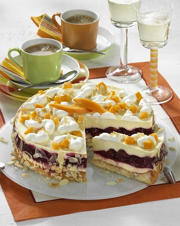 Unser beliebtes Rezept für Prosecco-Frucht-Torte und mehr als 55.000 weitere kostenlose Rezepte auf LECKER.de.