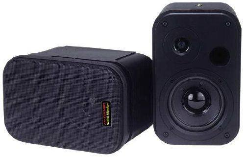 Pyramid 3080 3.5-Inch 2Way 300 Watt bookcase speaker and Studio Monitor by Pyramid. $37.40. 3.5-Inch Long Throw Woofer1-Inch High Compliance Polymer Tweeter Vented Design for High Power and Low Bass Heavy Duty ABS Construction w/Rubber Edge Quick Release Speaker Connection Built in Spring Loaded Mounting System 150 Watts Power RMS/300 Watts Peak 8 Ohm Impedance Frequency Response: 60-20kHz Dimensions: 4.75-Inch W x 7.25-Inch H x 4.75-Inch D. Save 53% Off!