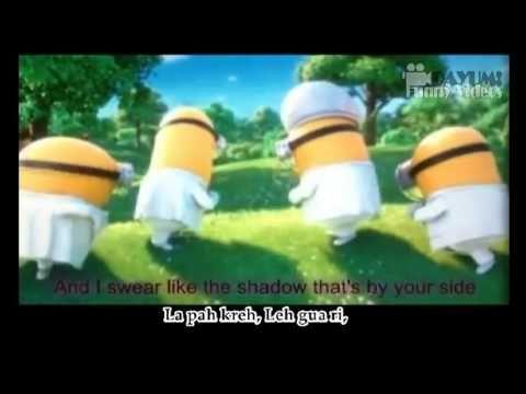 MINIONS - I Swear - Despicable Me 2 Movie (English Subtitles + Lyrics Ve...
