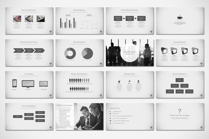 40 best creative and good looking powerpoint slides images