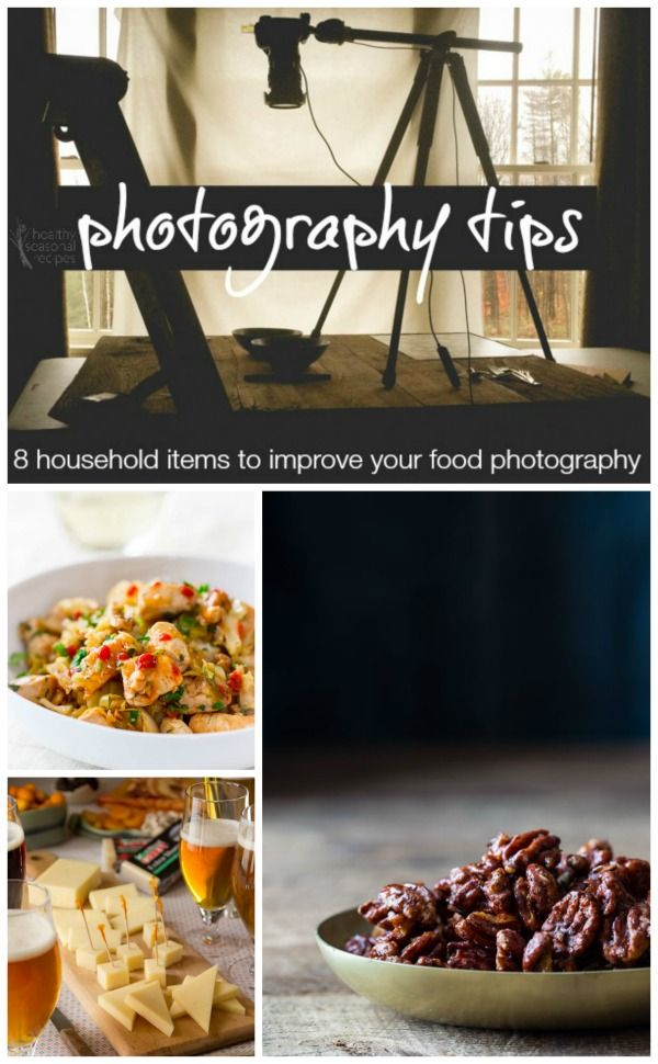 Here are 8 items you already have in your house that will help improve your food photography. Are you using any of these? Guess what salt will help with...
