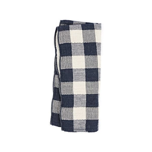 Navy Vintage Check Towels (€29) ❤ liked on Polyvore featuring home, bed & bath, bath, bath towels, navy bath towels, vintage bath towels, navy blue bath towels and navy blue hand towels