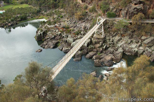 Cataract Gorge Alexandra Suspension Bridge
