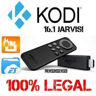 AMAZON FIRE TV STICK WITH THE LATEST KODI 16.1 INSTALLED XBMC DIY