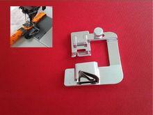 Сделано в Тайване швейная лапка, регулируемая смещения биндер ног, лапку-рубильник, лапок наборы, подъем хеммер пешком, 6/8 inch(China (Mainland))