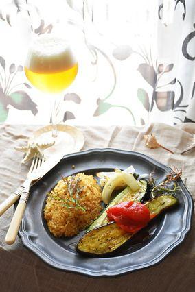 振って焼くだけ! ナスとズッキーニのアジアン焼き 夏野菜の超絶簡単絶品レシピ レシピブログ
