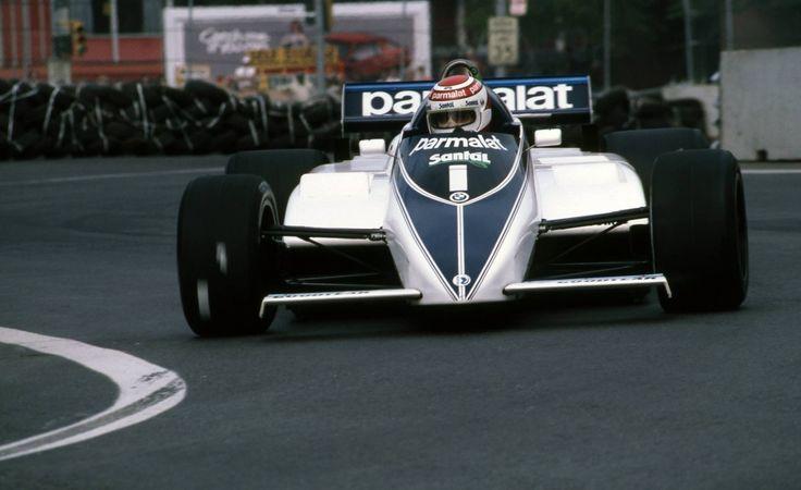 Nelson Piquet (Brabham-BMW) Grand Prix des USA - Circuit urbain de Détroit- 1982 - Formula 1 HIGH RES photos (Old and New).