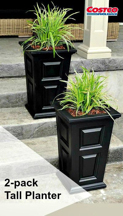 Have The Look Of Wood Without The Upkeep With Our High Grade Polyethylene  Planters.
