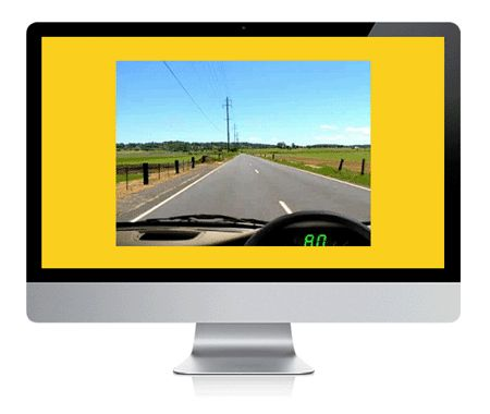 click here to take the hazard perception test
