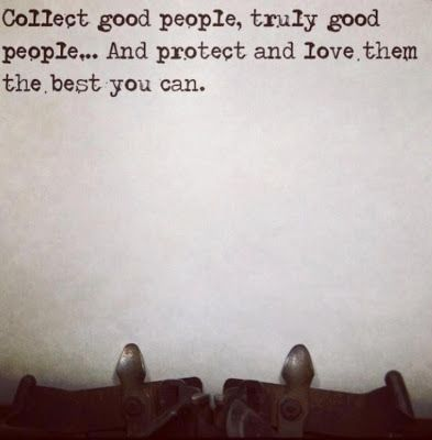 Good People Collector | bits of truth