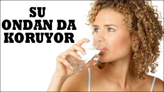 'Su yaz depresyonundan koruyor'  