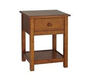 Here's the boy's nightstands, also from Pottery Barn
