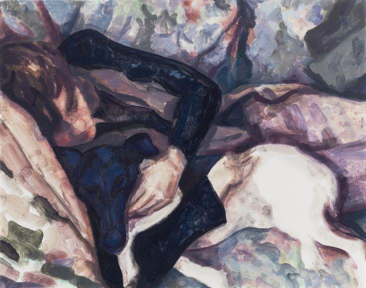 Elizabeth Peyton (American, b. 1965), October, 2012-13. Oil on panel, 28.6 x 36.2 cm.