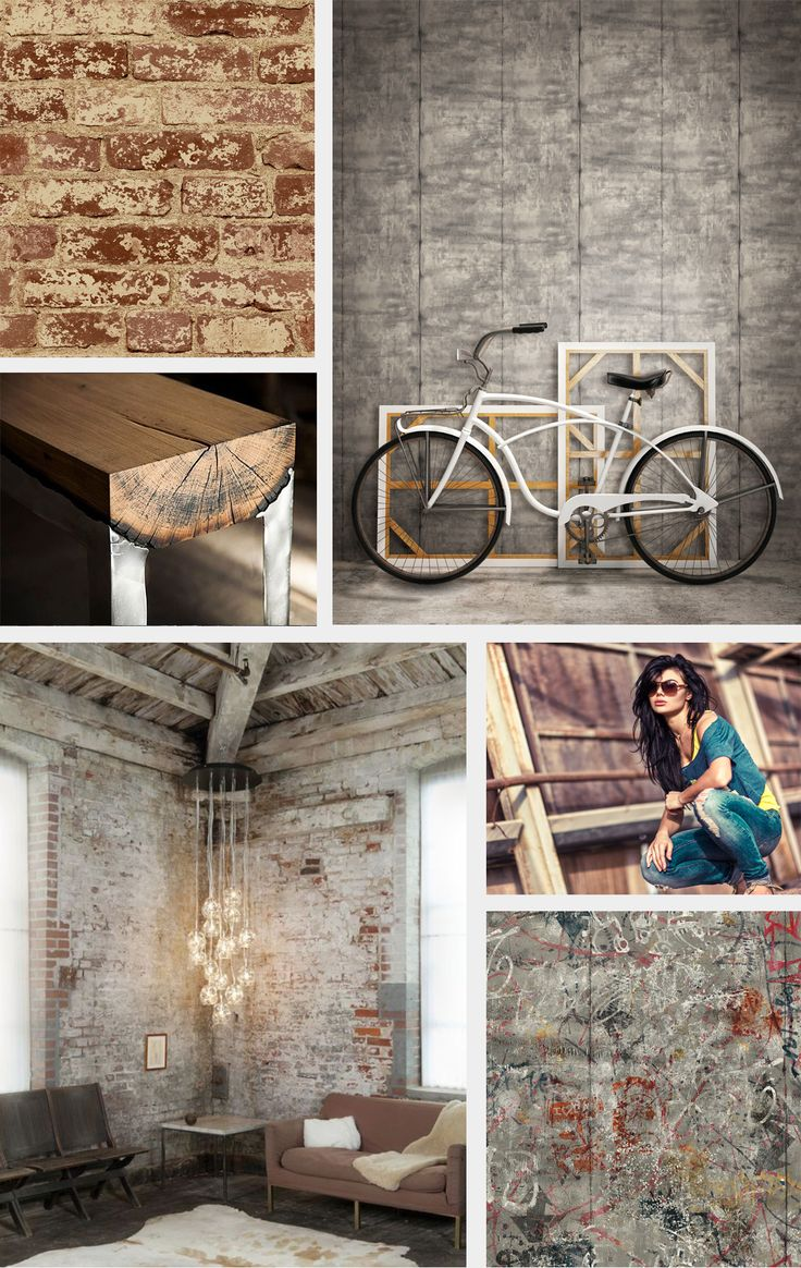 Industrial Chic Design Revolution Accomplished With Brick Wallpaper By York