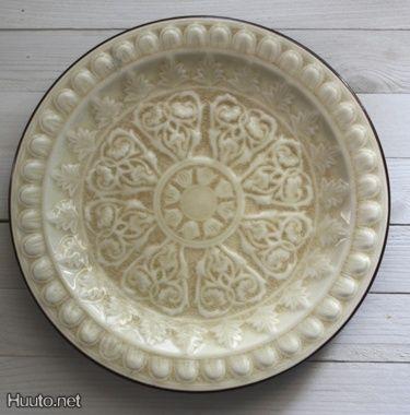 Koristeelinen lautanen #huutonet