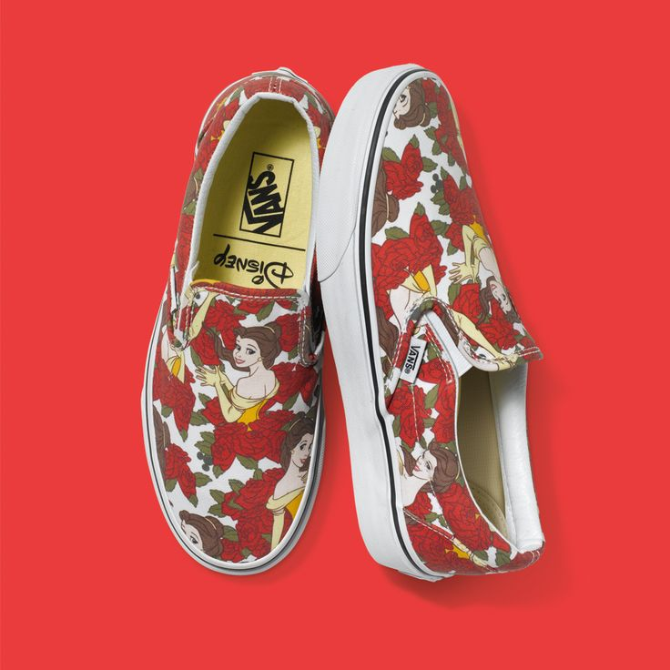 The Disney Princess and Vans Collection is Pure Shoe Magic I want these sooo bad.