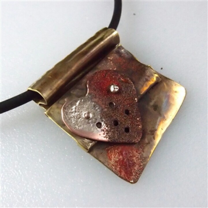 57 best gillyb design australian jewellery designer images on love letter fold form brass with copper heart sterling silver rivets and audiocablefo