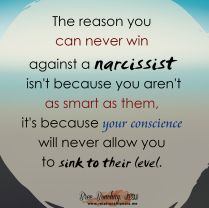 Can't Win Against A Narcissist