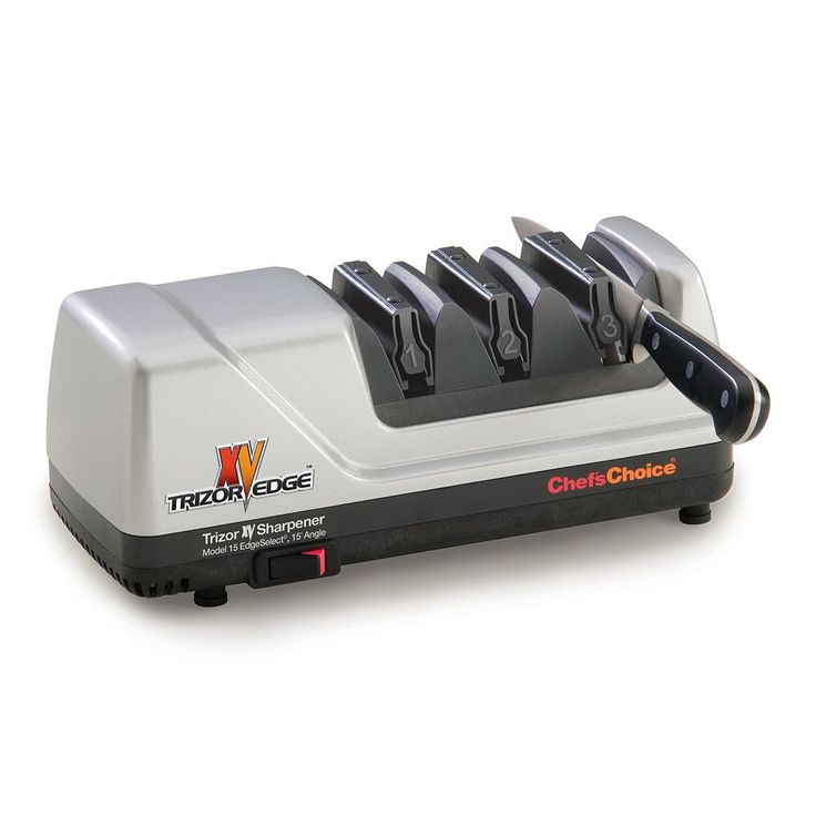 Chef'sChoice Trizor XV EdgeSelect Electric Knife Sharpener, Multicolor