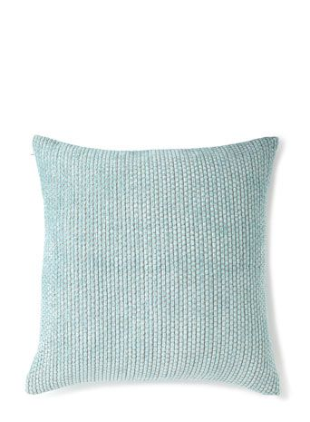 Duck egg bobble cushion - 50x50cm - cushions  - Home, Lighting & Furniture