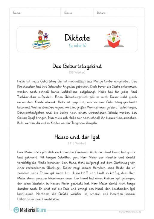 diktat g oder k d deutsch unterricht unterricht schule arbeitsbl tter. Black Bedroom Furniture Sets. Home Design Ideas