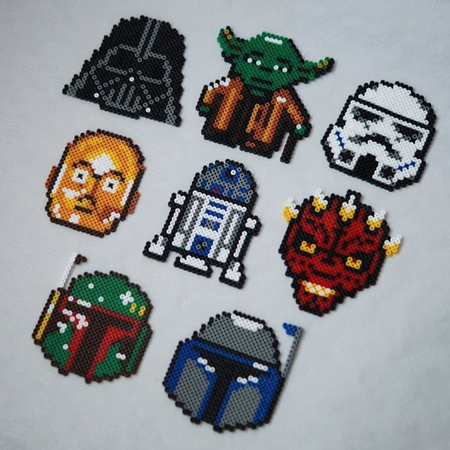 Star Wars hama beads by himynameisjules