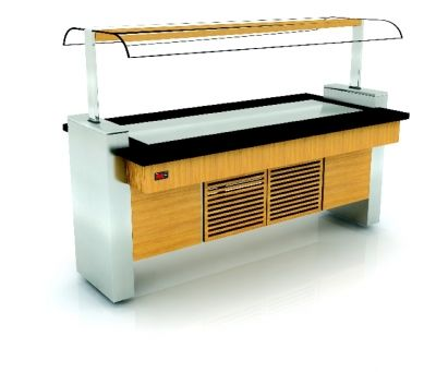OSA-CL160P - Cold Service Unit/Stainless Steel Cooling Surface