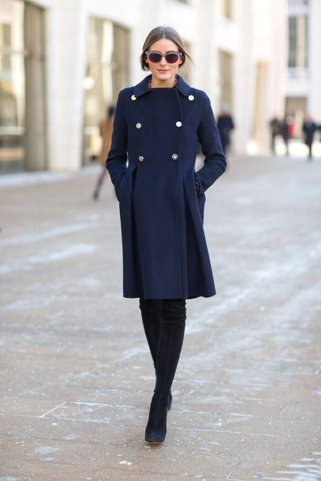 The military trend was in full force for this season's street style. See all of the Fashion Week street style trends spotted here.