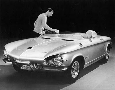 Chevrolet Corvair Super Spyder 1962