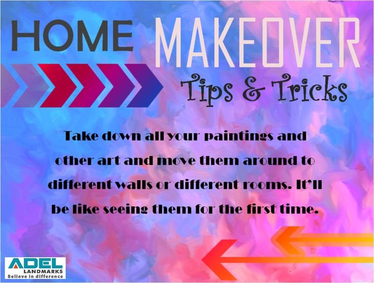 Planning for #home makeover? Here is a simple and cost effective tip to give your home a new look. #homemakeover #tipsandtricks