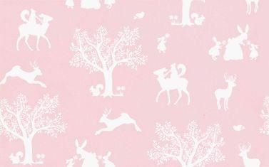 Enchanted Wood wallpaper by Hibou Home