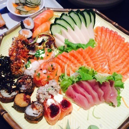 Living asian style sushi pinterest posts more for Whole foods sushi grade fish