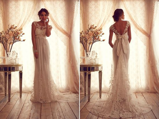 """Anna Campbell """"Gossamer"""" 2013 Made To Measure Collection"""