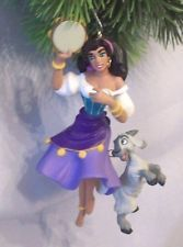 A really cute ornament and colorful with Esmeralda's attire.  Djali is handing on.  It is approx. 4 1/2  x   2 3/4 inches.