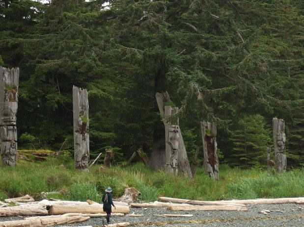 B A B Ed E Haida Gwaii Small Island on Haida Indian Villages In Alaska