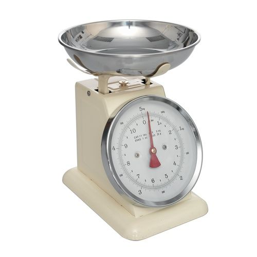 Retro Ivory Kitchen Scales