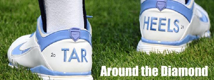 Tar Heel baseball shoes.