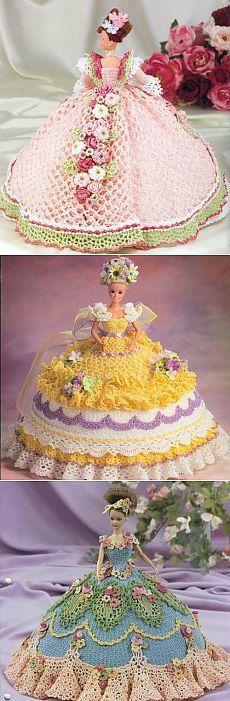 @ Наряды для Барби, связанные крючком – схемы вязания | МОЙ МИЛЫЙ ДОМ – идеи рукоделия, вязание, декорирование интерьеров