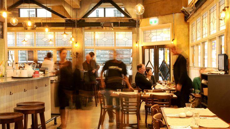 Ombra cafe. Wellington, New Zealand. NZ architects…