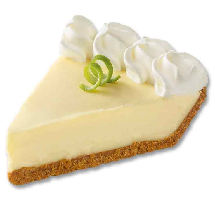 The refreshing flavor of tart key limes and sweet whipped crème make our Key Lime Pie one to enjoy anytime.