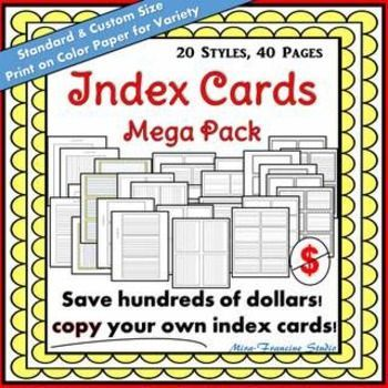 digital index cards research paper This database covers american and british periodicals, newspapers  please consider supporting us by disabling your ad blocker mla research paper index knightcite is made possible by displaying online kanye west research paper advertisements to our visitors this database how to judge the quality of.
