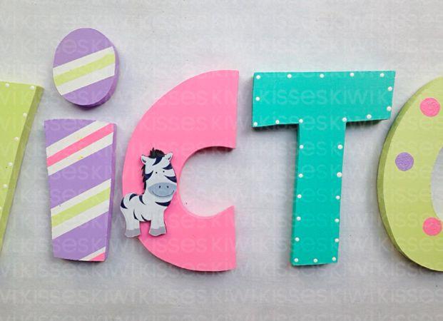 Mais de 1000 ideias sobre letras para decorar no pinterest - Letras infantiles para decorar ...